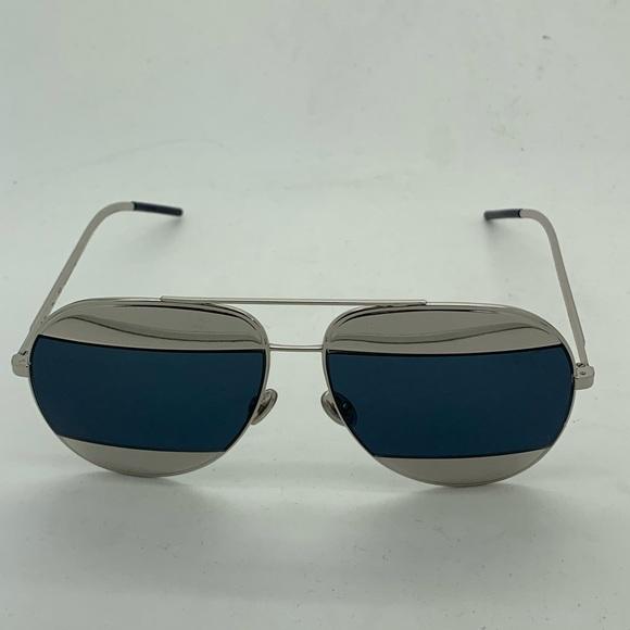 71ab6ee5e51b Dior Accessories | Christian Split 1s 010ku Aviator Sunglasses ...